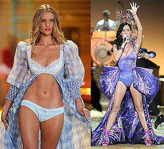 Pictures of Victoria's Secret Fashion Show Including Katy Perry Performing, Angel Rosie Huntington-Whiteley in Lingerie