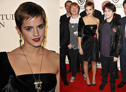 Emma Watson, Daniel Radcliffe, Rupert Grint at Harry Potter and the Deathly Hallows Press Event