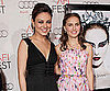 Slide Picture of Natalie Portman and Mila Kunis at Black Swan Premiere