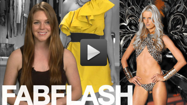 Stay up-to-date with FabSugarTV's latest Fab Flash.
