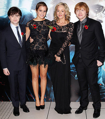 Gallery of Pictures from the World Premiere of Harry Potter and the Deathly Hallows Part 1, Including Emma Watson