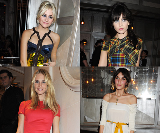 Donatella Versace Throws a London Party