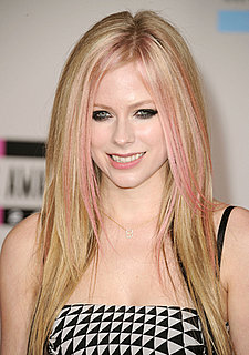 Avril Lavigne at American Music Awards in 2010