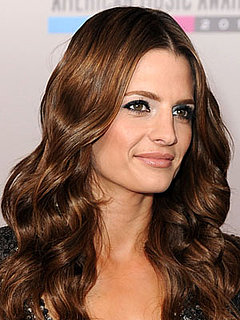 Stana Katic at 2010 AMAs