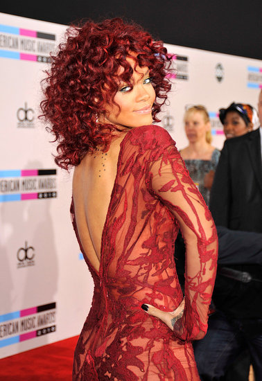 Pictures of Rihanna at the American Music Awards