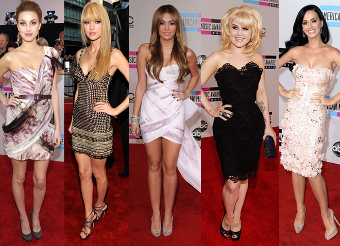 2010 American Music Awards Best-Dressed 2010-11-21 18:54:41