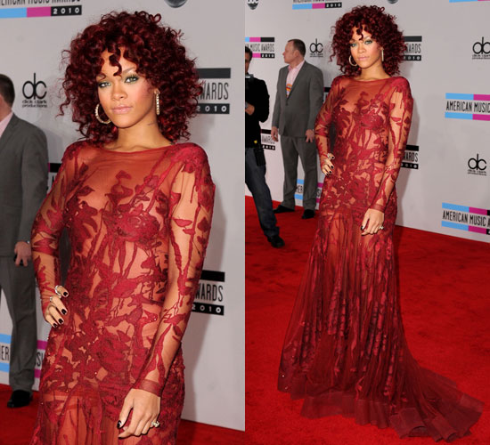 Rihanna at 2010 American Music Awards