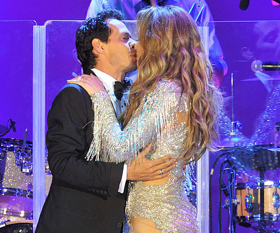 Marc Anthony and Jennfier