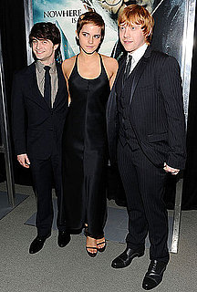 Pictures of Emma Watson, Daniel Radcliffe, Rupert Grint at Harry Potter and the Deathly Hallows NYC Premiere 2010-11-16 00:30:00