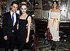Alexa Chung and January Jones at Versace Dinner