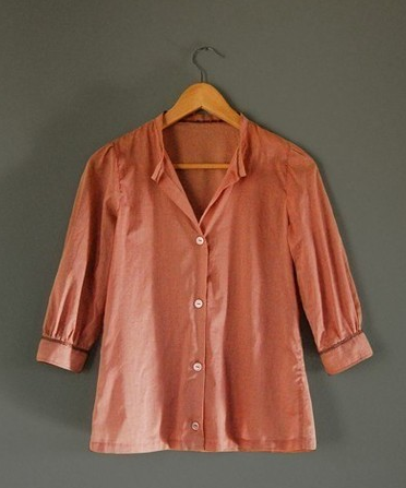 Rose Cotton Voile Blouse ($85)