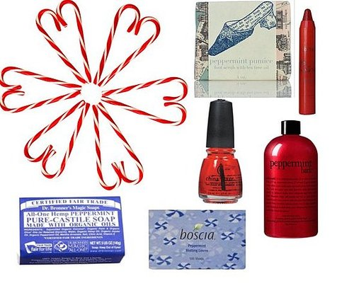New Peppermint-Scented Beauty Products For the 2010 Holiday Season