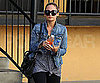 Slide Picture of Nicole Richie Leaving the Gym in LA 2010-11-17 08:30:00