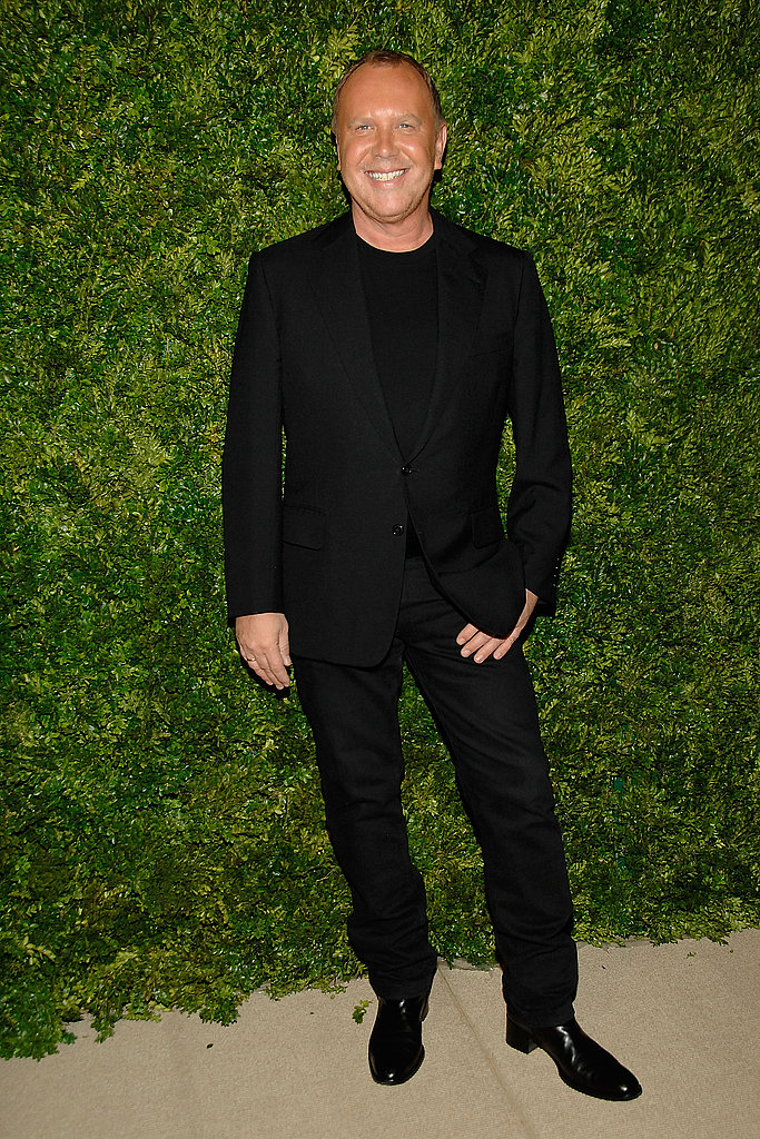 Michael Kors was another man who opted to keep it all black and chic.