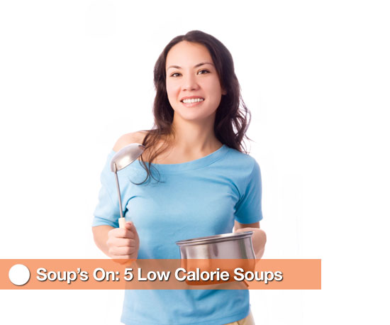 Low Calorie Soup Options