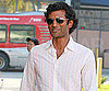 Slide Picture of Sendhil Ramamurthy Grabbing Groceries in LA