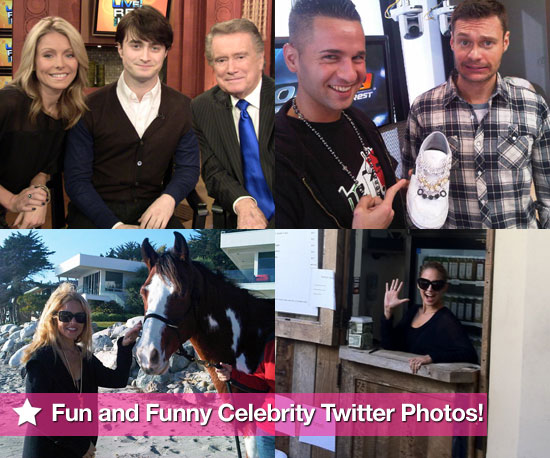 Fun and Funny Celebrity Twitter Pictures 2010-11-18 09:15:00
