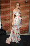 Floor-length florals at the Infinity Awards in '05.