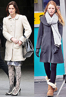 Pictures of Blake Lively and Leighton Meester Filming Gossip Girl in New York Plus Green Lantern Trailer with Ryan Reynolds