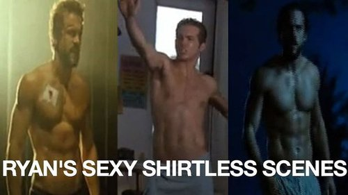 Video of Sexiest Man Alive Ryan Reynolds Without a Shirt 2010-11-17 12:30:25