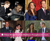 Engaged Prince William and Kate Middleton Through the Years