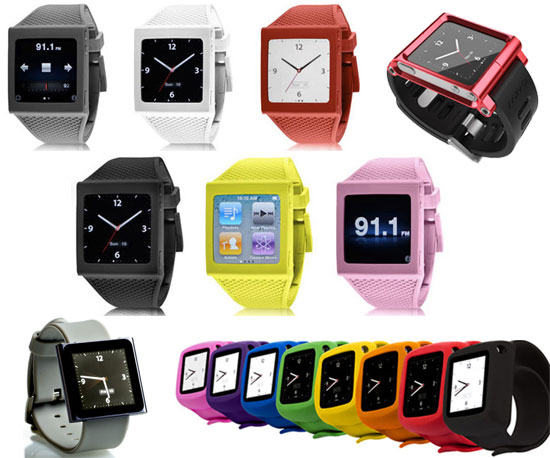 iPod Nano Wrist Straps Turn Your iPod Into a Watch