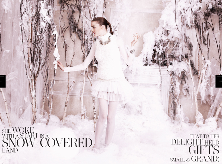 BCBGMAXAZRIA's Holiday Gift Guide Fairytale Comes to Life