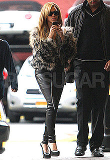 Pictures of Beyonce Knowles Heading to a Photo Shoot in NYC