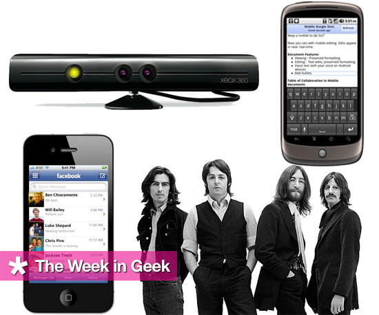 Top News and Stories This Week on GeekSugar 2010-11-20 04:00:35