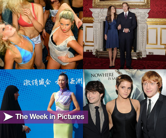 Pictures From Playboy Club Sydney Auditions, Prince William's Engagement, and Harry Potter Premiere