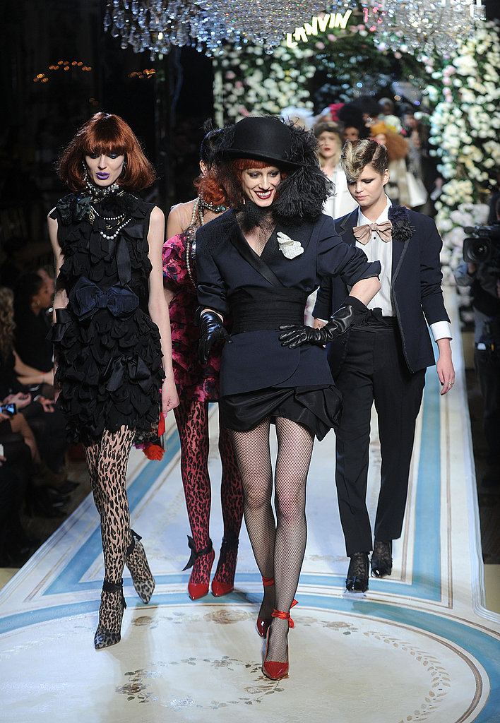 Alber Elbaz Pulls Out the Stops at Lanvin for H&M Fashion Show