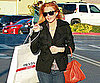 Slide Picture of Lindsay Lohan Shopping Palm Springs Outlet Mall