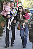 Pictures of Jennifer Garner, Ben Affleck, Violet and Seraphina's Thanksgiving in LA