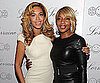 Slide Picture of Mary J Blige and Beyonce at Lorraine Schwartz Event in NYC