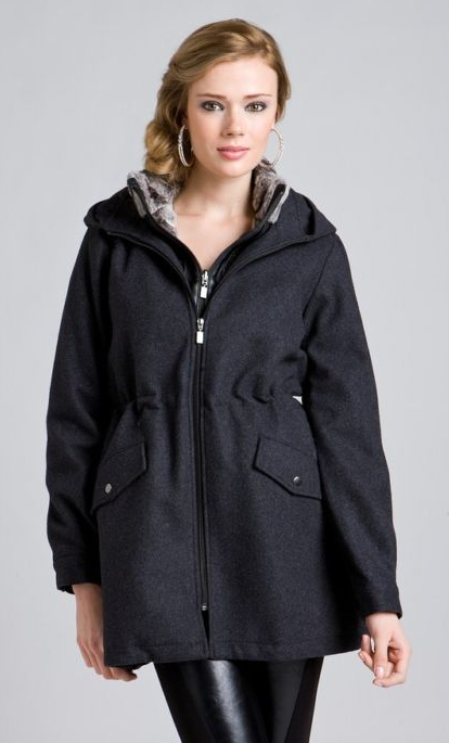 ABS Hooded Coat ($130)