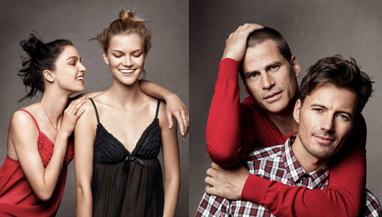 H&M's Holiday Ads Bring Together Old- and New-School Models!