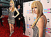 Taylor Swift With a New Blunt Fringe at the American Music Awards