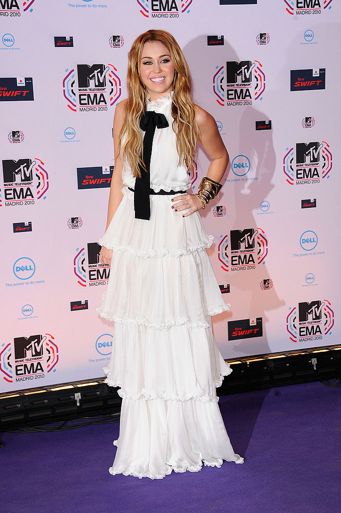 November 2010: MTV Europe Music Awards