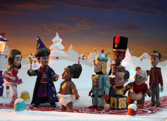 Community's Stop-Motion Holiday Episode