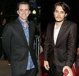 Pictures of Jim Carrey and John Mayer at the NYC Screening of I Love You Phillip Morris