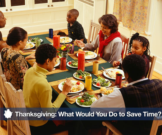 Busy Thanksgiving: What Would You Do to Save Time?