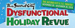 The Second City's Dysfunctional Holiday Revue Opens