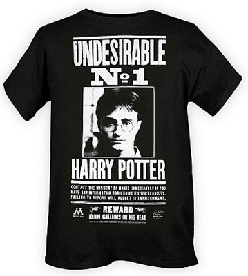 Harry Potter Undesirable No. 1 Shirt ($19)