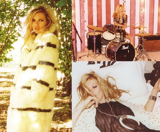 See Kate Moss like you've never seen her before — in her own home.