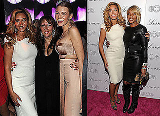 Beyonce Knowles and Blake Lively at Lorraine Schwartz's Jewellery Collection Launch
