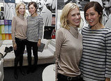 January Jones and Rose Byrne at Lacoste VIP Lounge