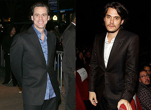 Jim Carrey and John Mayer at the NYC Screening of I Love You Phillip Morris