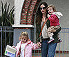Slide Picture of Jennifer Garner With Seraphina and Violet Affleck