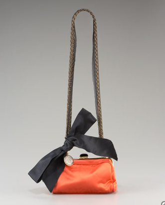 Lanvin Satin Genereux Shoulder Bag ($1,260)