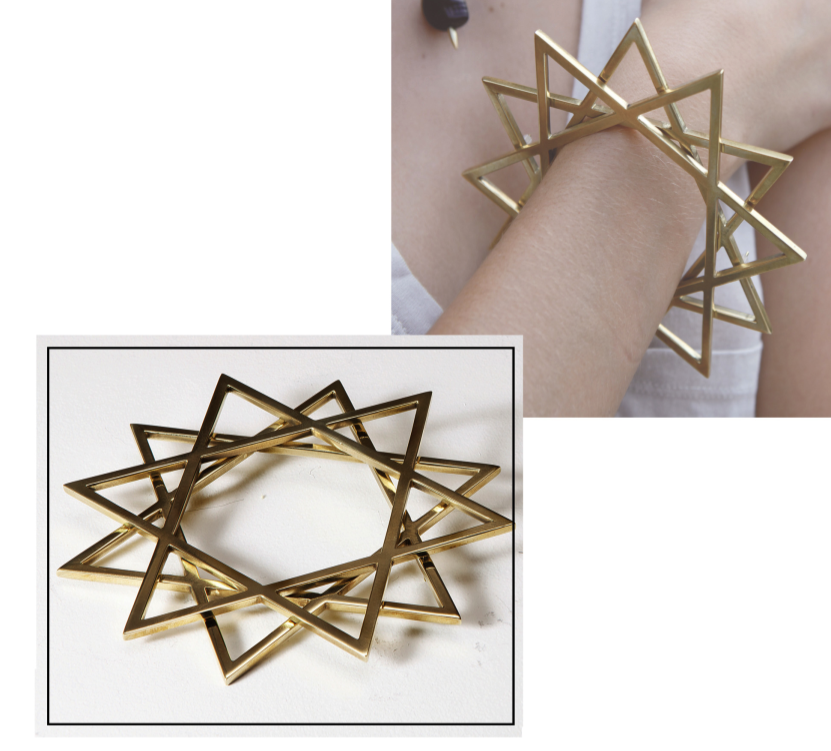 Six Point Star Bangle